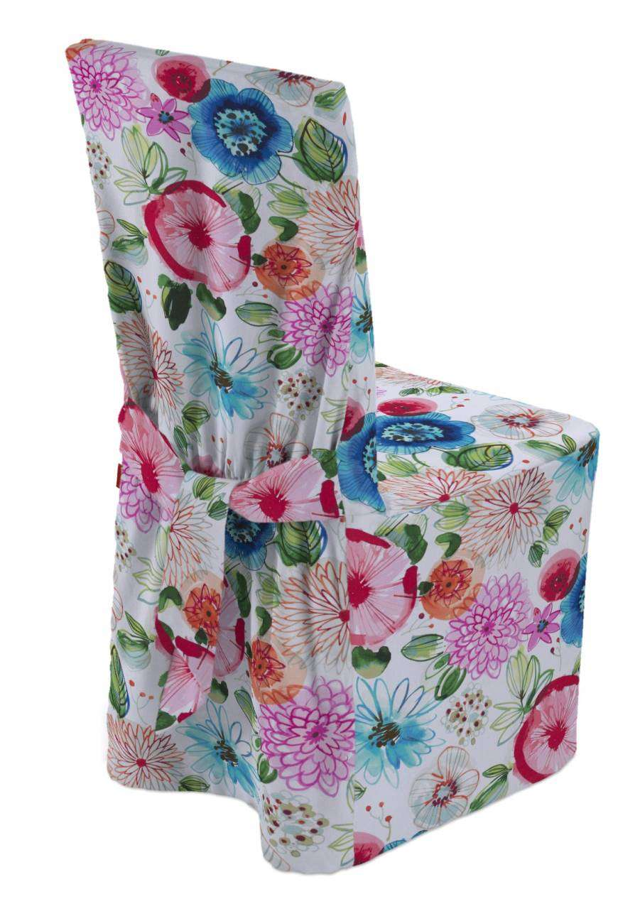 Standard and made to measure chair cover in collection New Art, fabric: 140-24