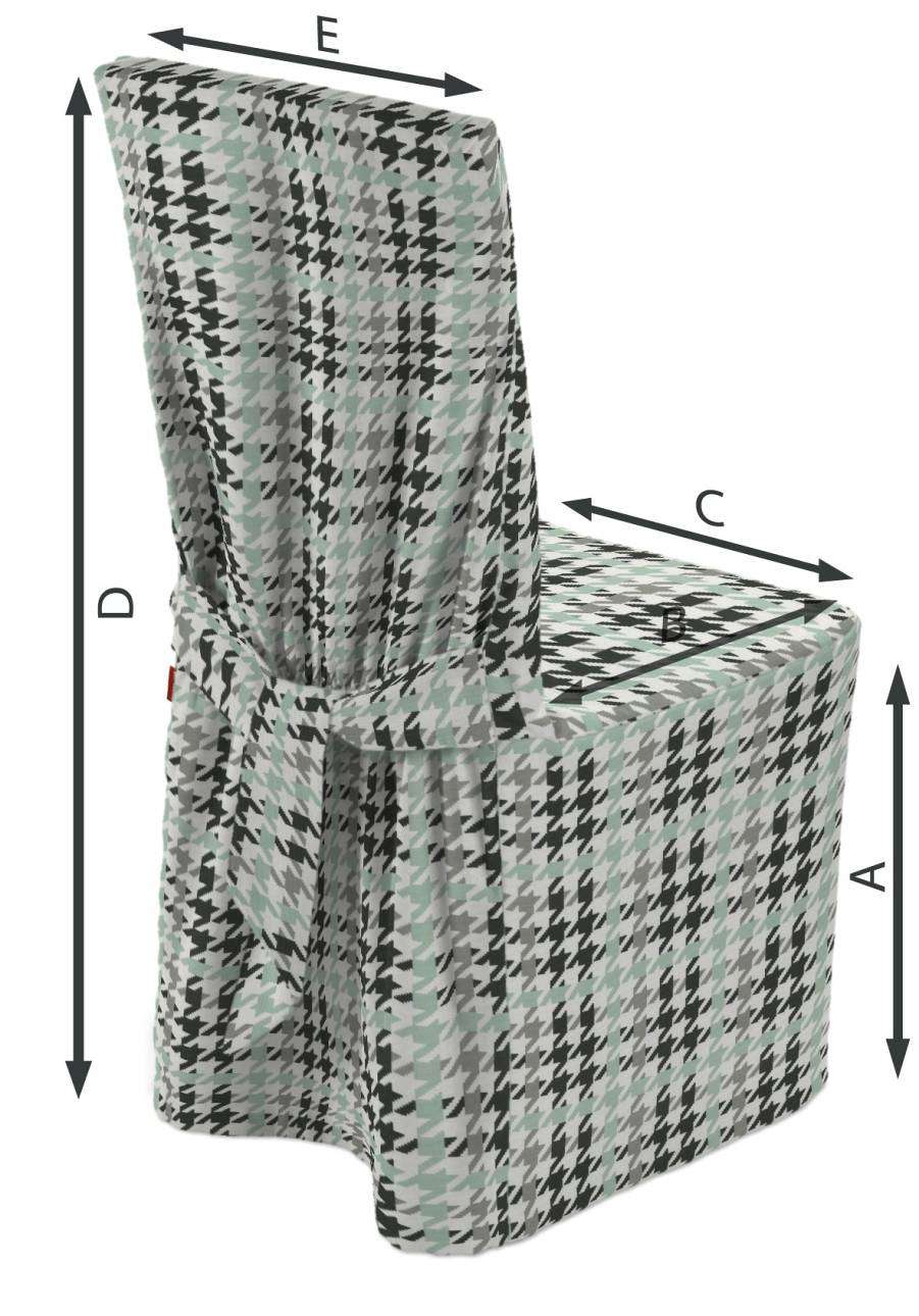 Įvairių kėdžių užvalkalai  45 x 94 cm kolekcijoje Brooklyn, audinys: 137-77