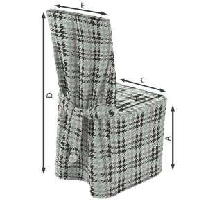 Sukienka na krzesło 45x94 cm w kolekcji Brooklyn, tkanina: 137-77