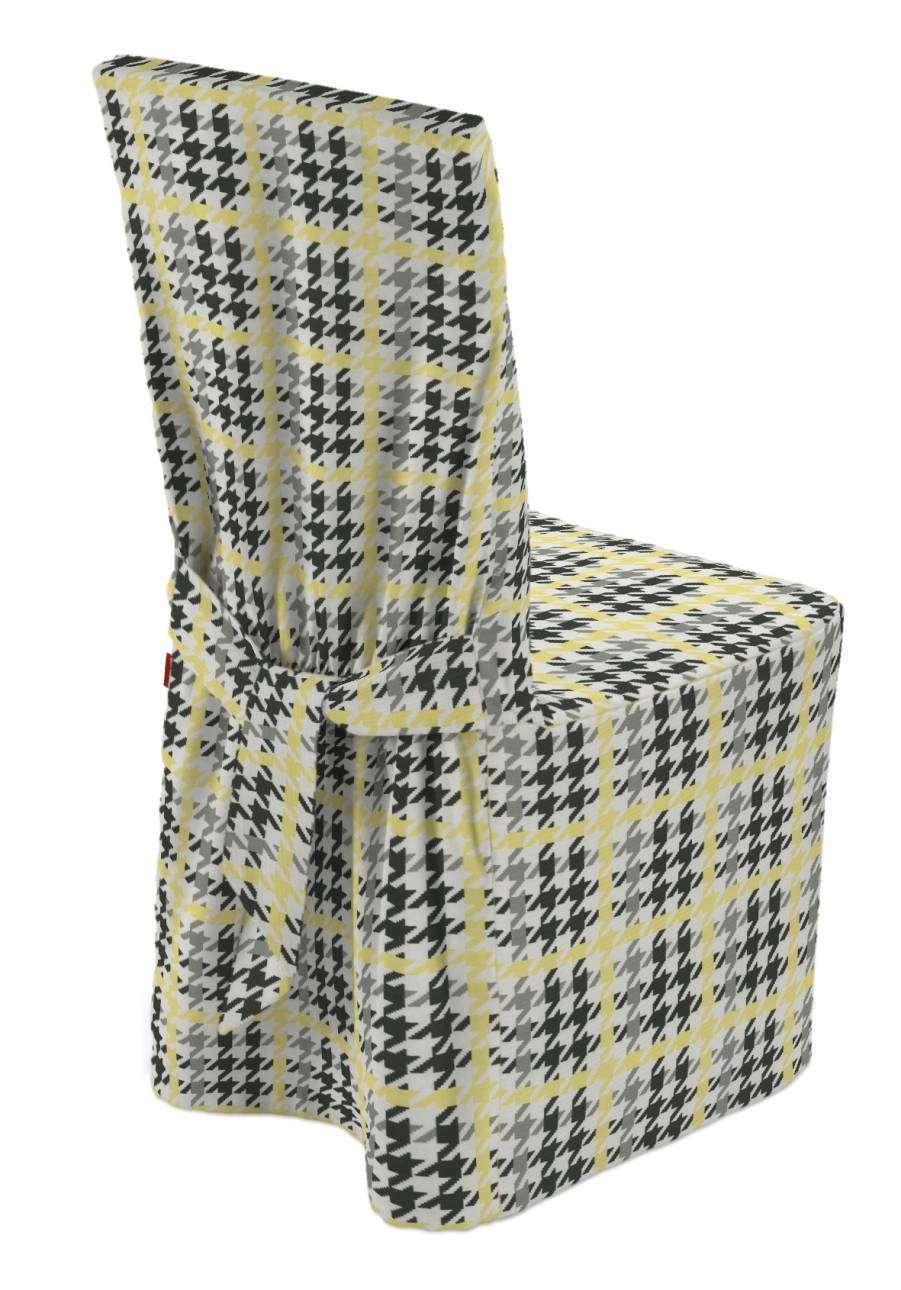 Sukienka na krzesło 45x94 cm w kolekcji Brooklyn, tkanina: 137-79