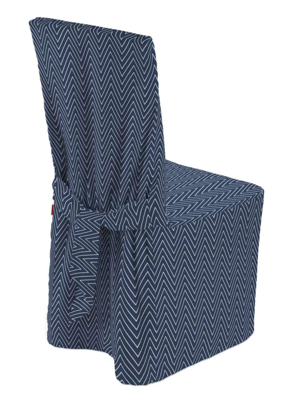 Sukienka na krzesło 45x94 cm w kolekcji Brooklyn, tkanina: 137-88
