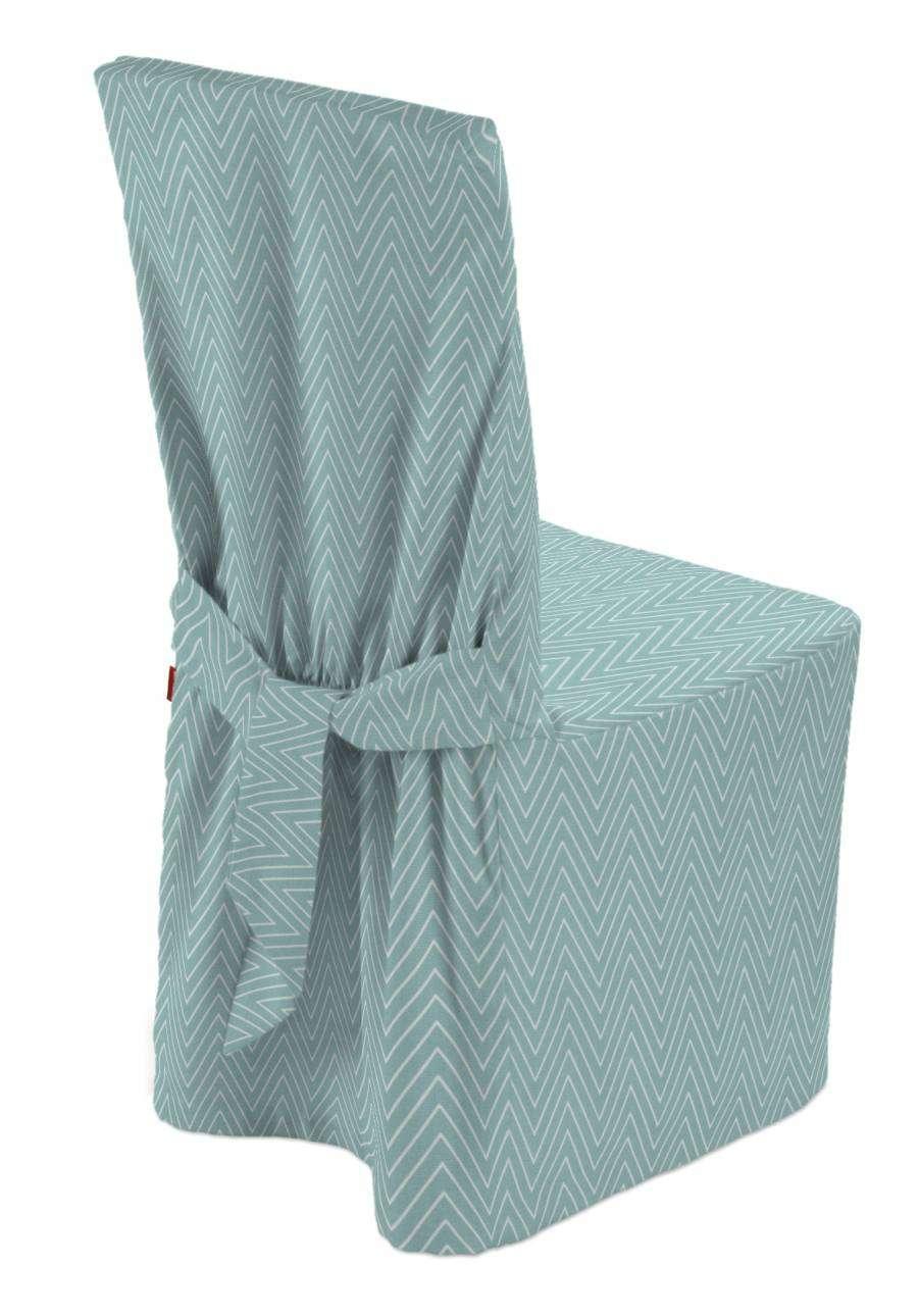 Sukienka na krzesło 45x94 cm w kolekcji Brooklyn, tkanina: 137-90