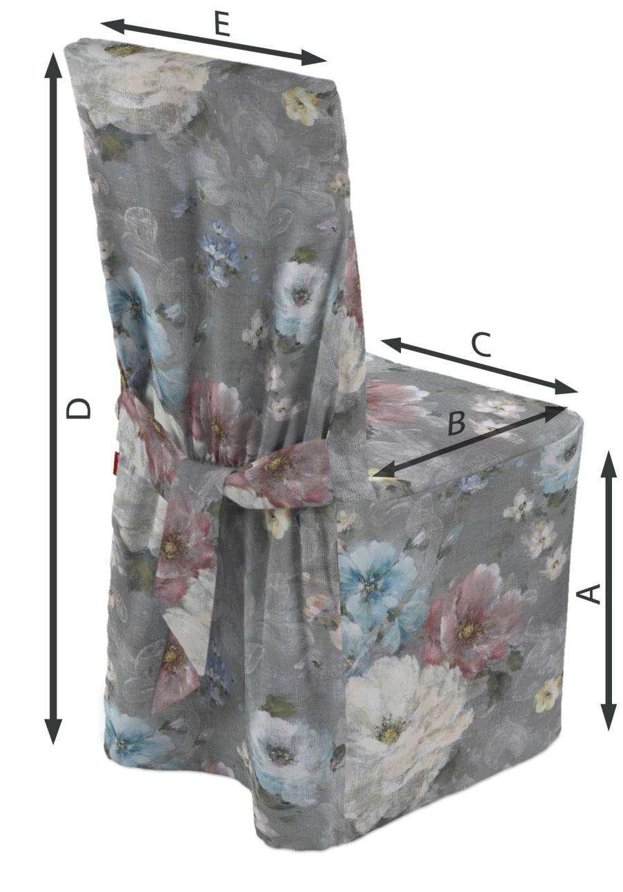 Stolsöverdrag i kollektionen Monet, Tyg: 137-81