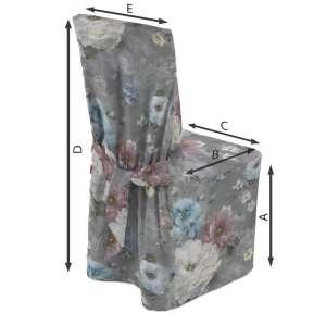 Sukienka na krzesło 45x94 cm w kolekcji Monet, tkanina: 137-81