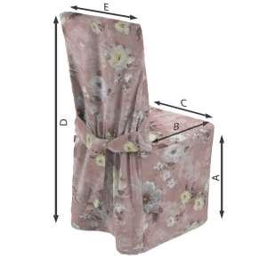 Sukienka na krzesło 45x94 cm w kolekcji Monet, tkanina: 137-83
