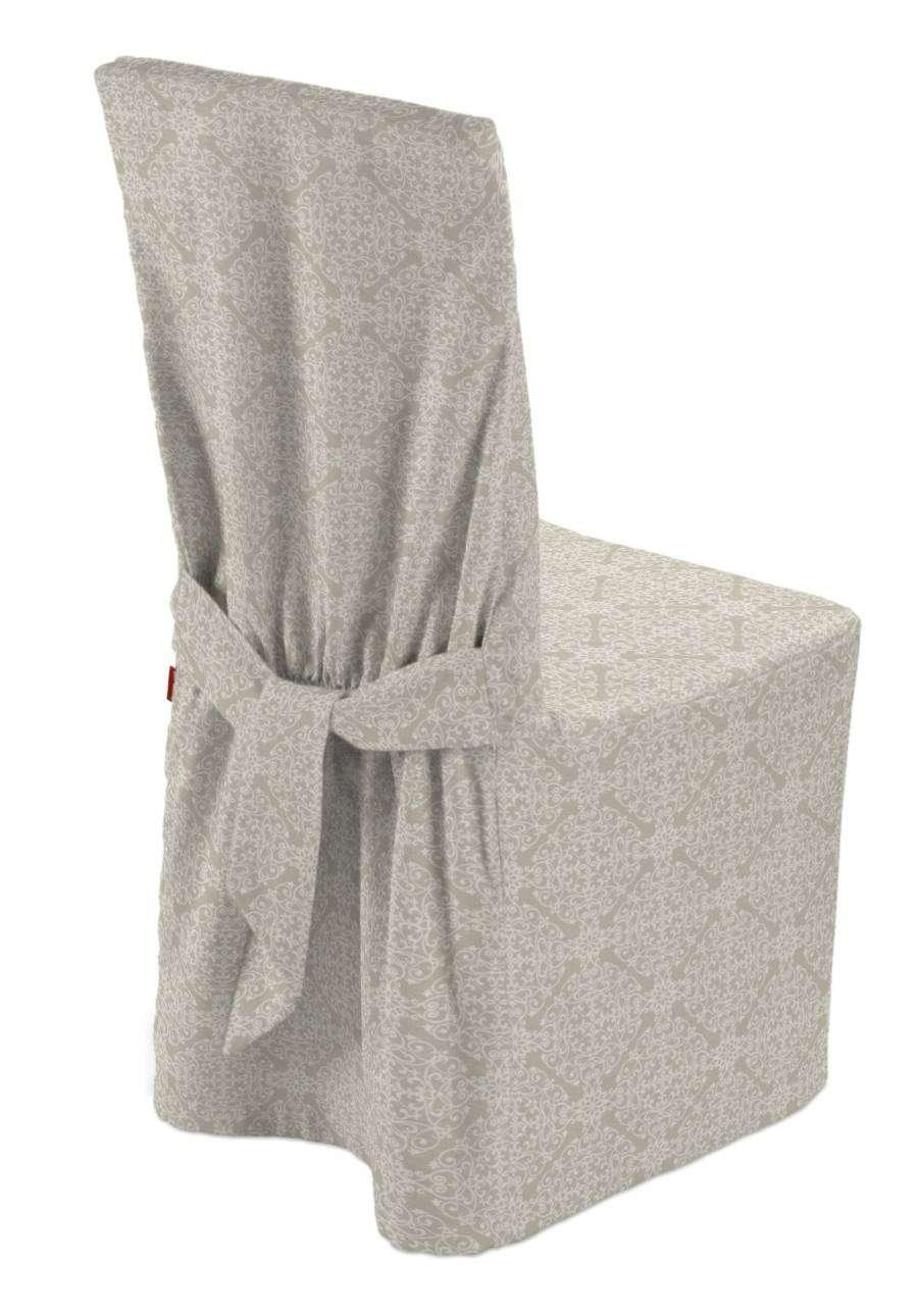 Sukienka na krzesło w kolekcji Flowers, tkanina: 140-39