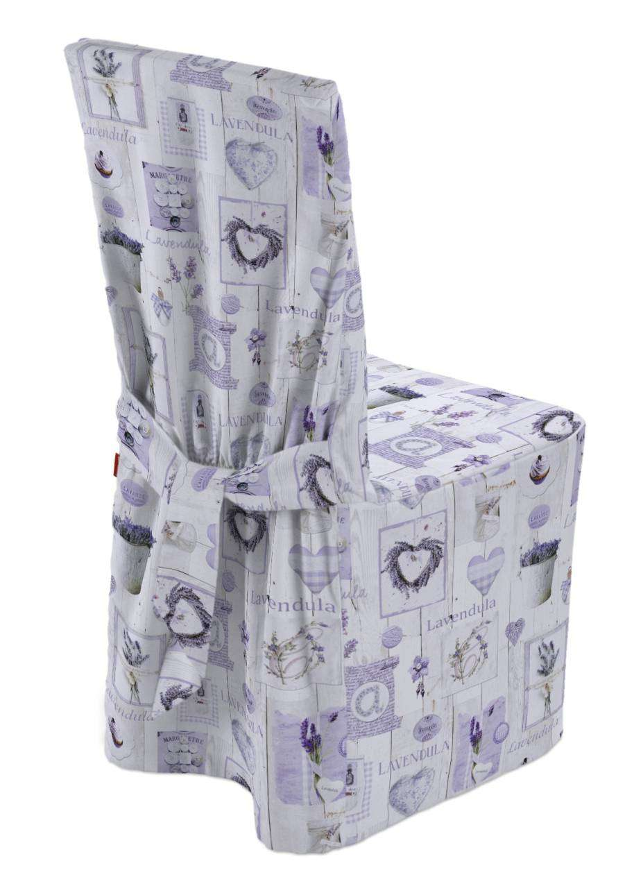 Standard And Made To Measure Chair Cover Lavender On