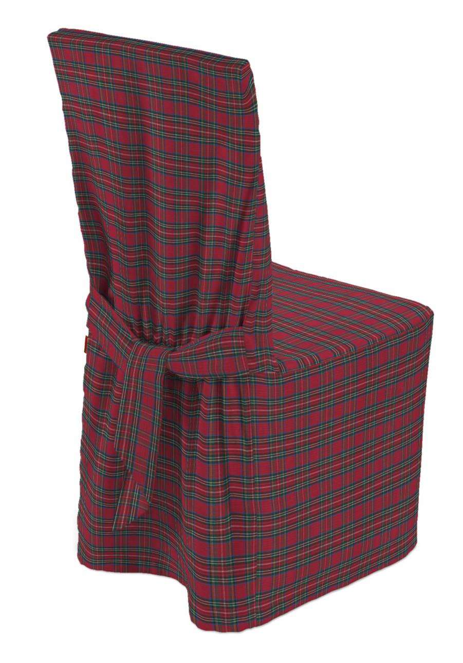 Standard and made to measure chair cover 45 x 94 cm (18 x 37 inch) in collection Bristol, fabric: 126-29