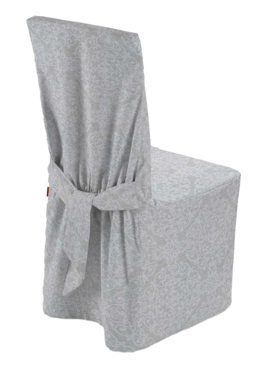 Sukienka na krzesło w kolekcji Venice, tkanina: 140-49