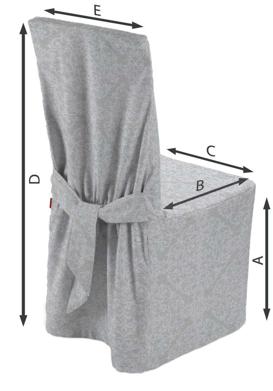 Návlek na stoličku 45 x 94 cm V kolekcii Venice, tkanina: 140-49