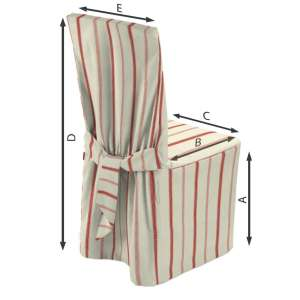Įvairių kėdžių užvalkalai  45 x 94 cm kolekcijoje Avinon, audinys: 129-15