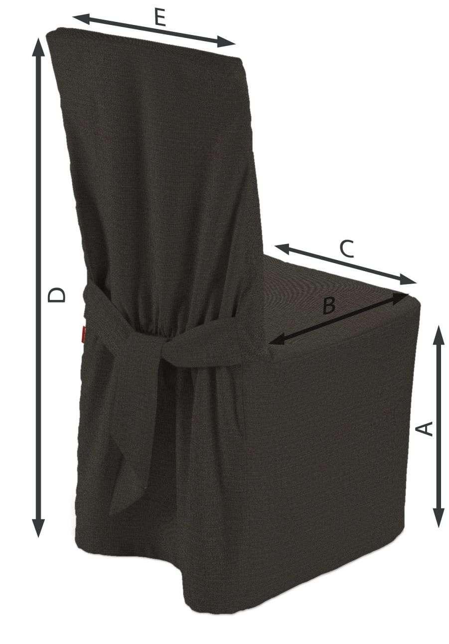 Sukienka na krzesło 45x94 cm w kolekcji Vintage, tkanina: 702-36