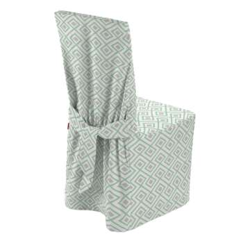 Standard and made to measure chair cover in collection Geometric, fabric: 141-45