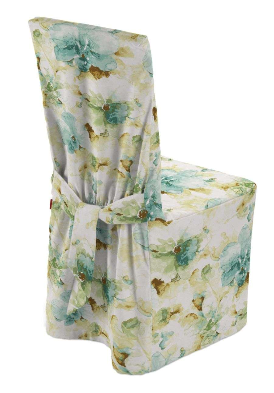 Standard and made to measure chair cover in collection Acapulco, fabric: 141-35
