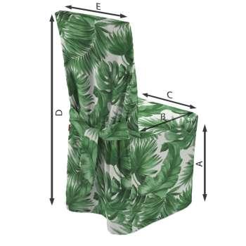 Sukienka na krzesło 45x94 cm w kolekcji Urban Jungle, tkanina: 141-71