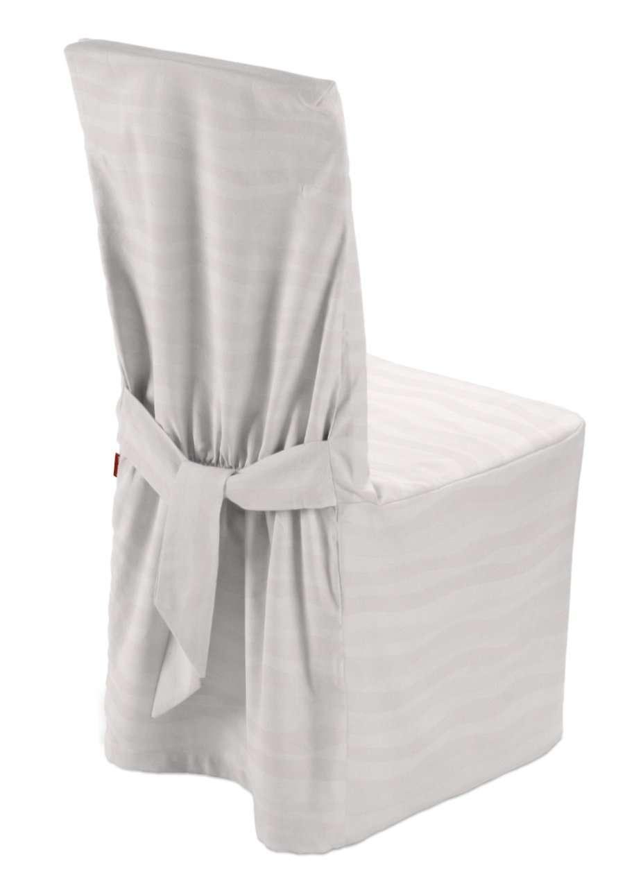 Sukienka na krzesło w kolekcji Damasco, tkanina: 141-87