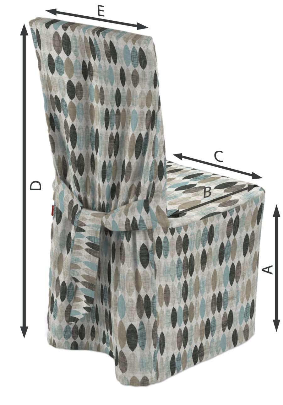 Sukienka na krzesło w kolekcji Modern, tkanina: 141-91