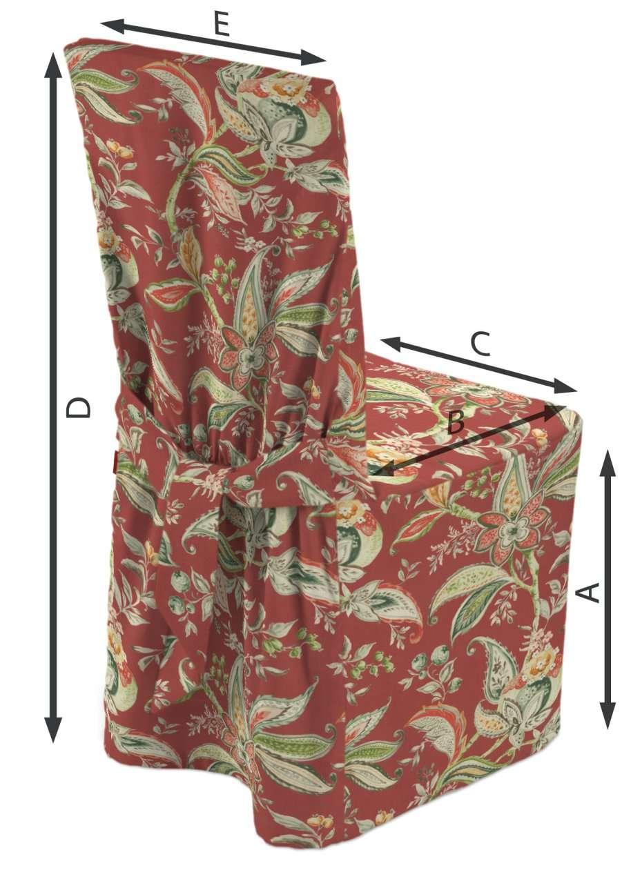 Universal tuolin päällinen mallistosta Gardenia, Kangas: 142-12