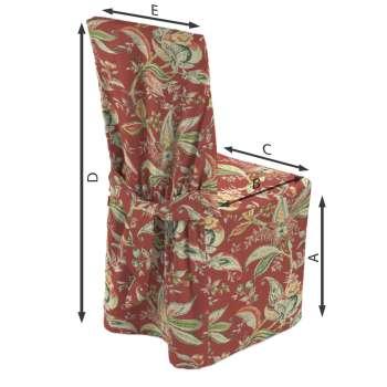 Sukienka na krzesło w kolekcji Gardenia, tkanina: 142-12