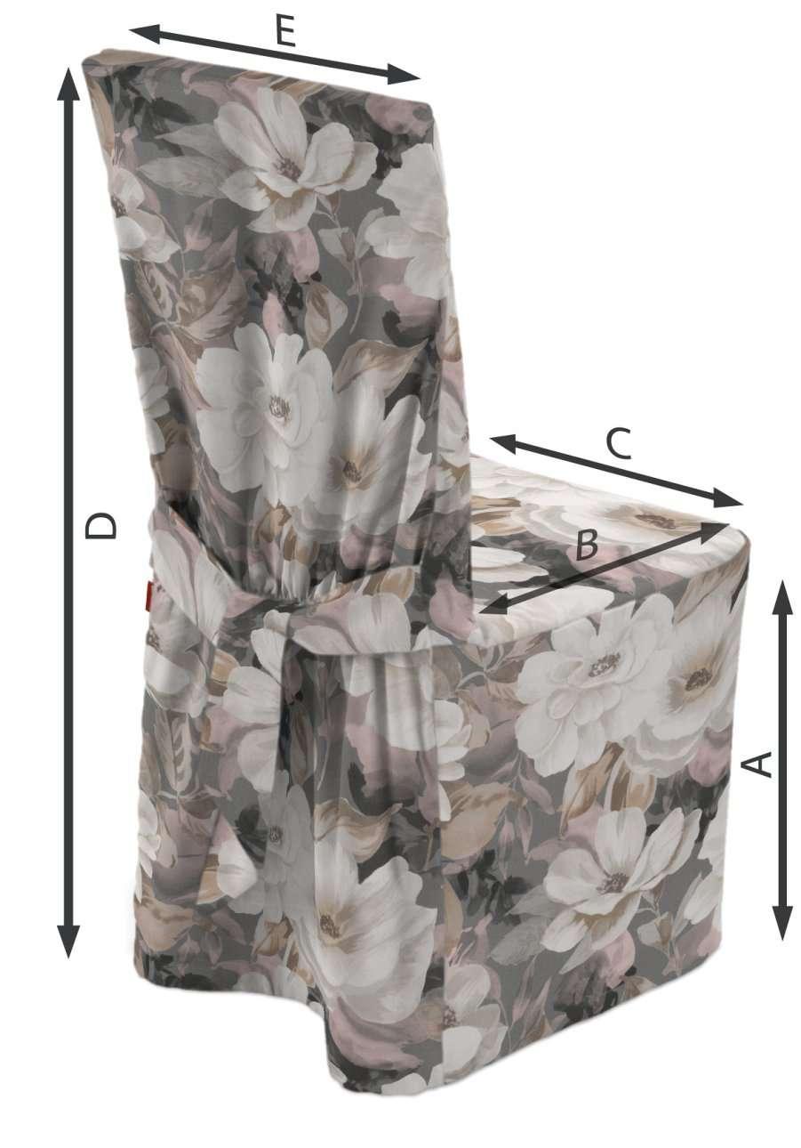 Návlek na stoličku V kolekcii Gardenia, tkanina: 142-13