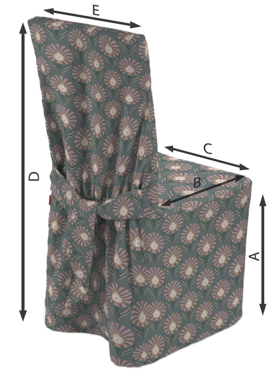 Universal Stoleovertræk fra kollektionen Gardenia, Stof: 142-17