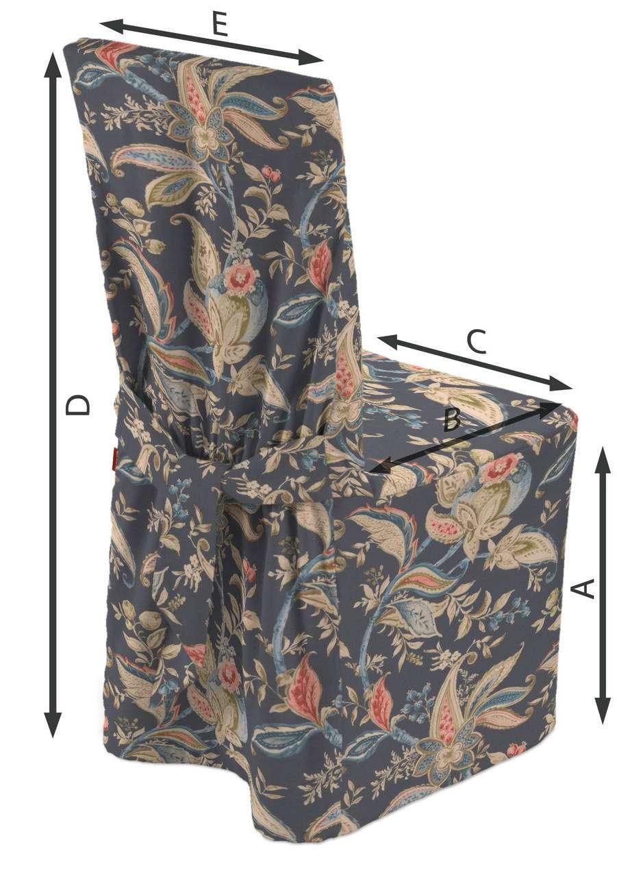 Návlek na stoličku V kolekcii Gardenia, tkanina: 142-19