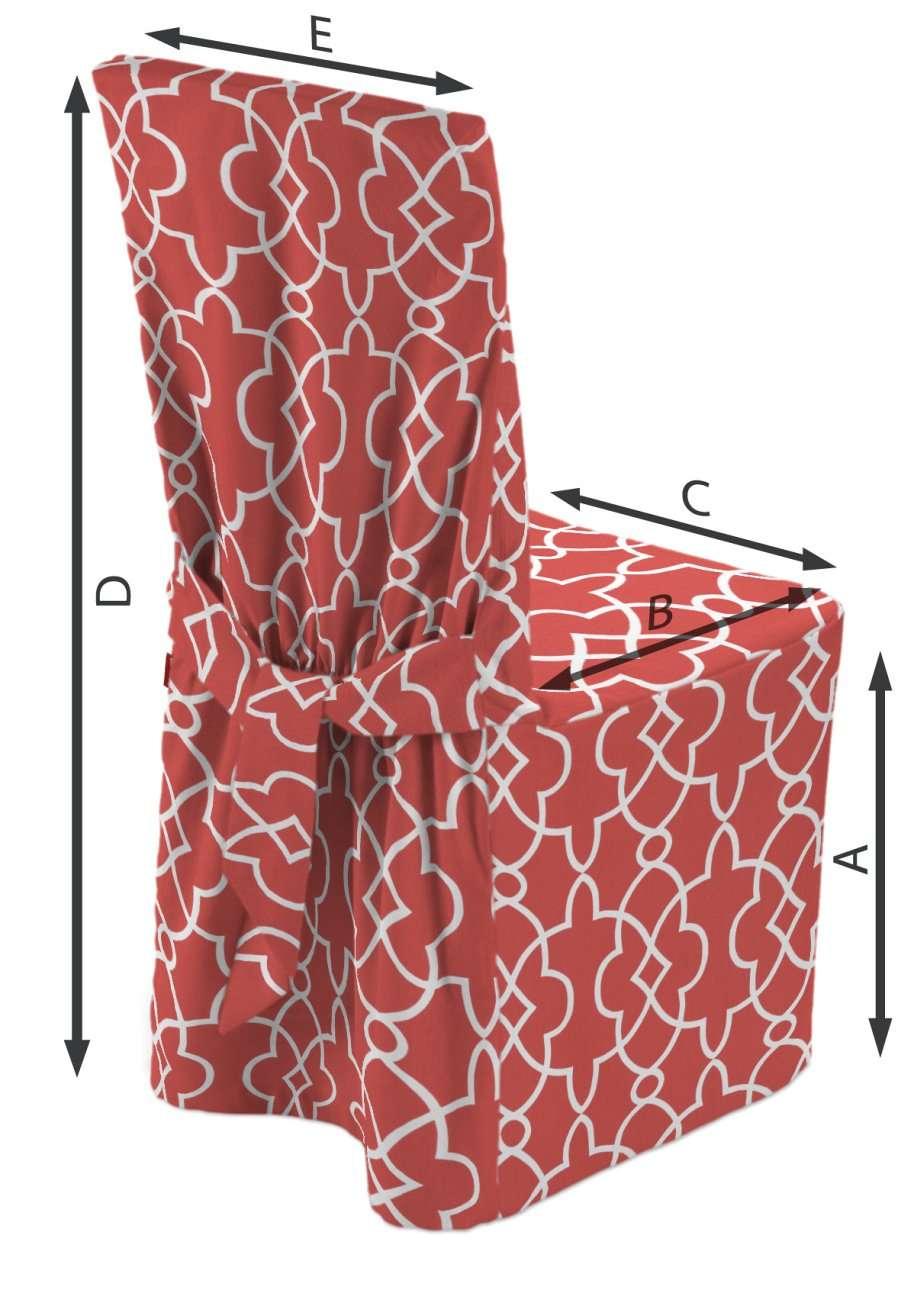 Sukienka na krzesło w kolekcji Gardenia, tkanina: 142-21