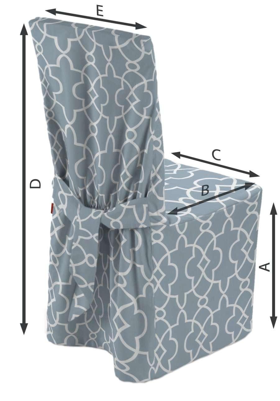 Sukienka na krzesło w kolekcji Gardenia, tkanina: 142-22