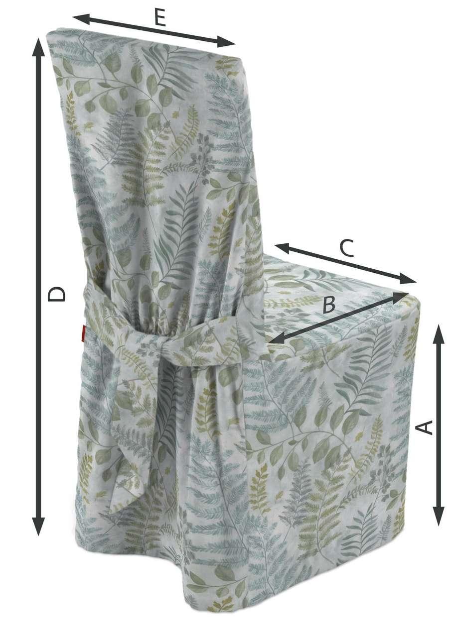 Návlek na stoličku V kolekcii Pastel Forest, tkanina: 142-46