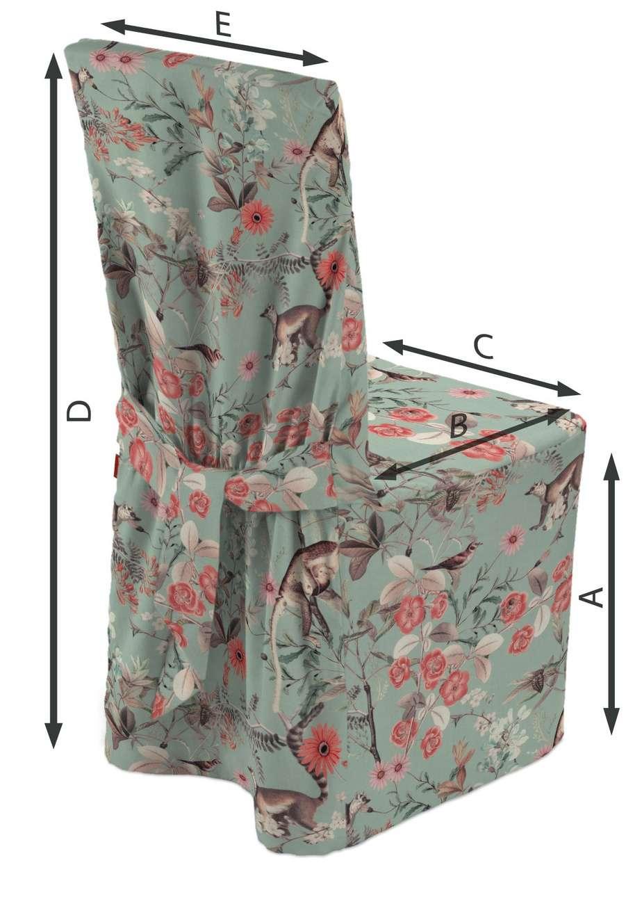 Sukienka na krzesło w kolekcji Tropical Island, tkanina: 142-62
