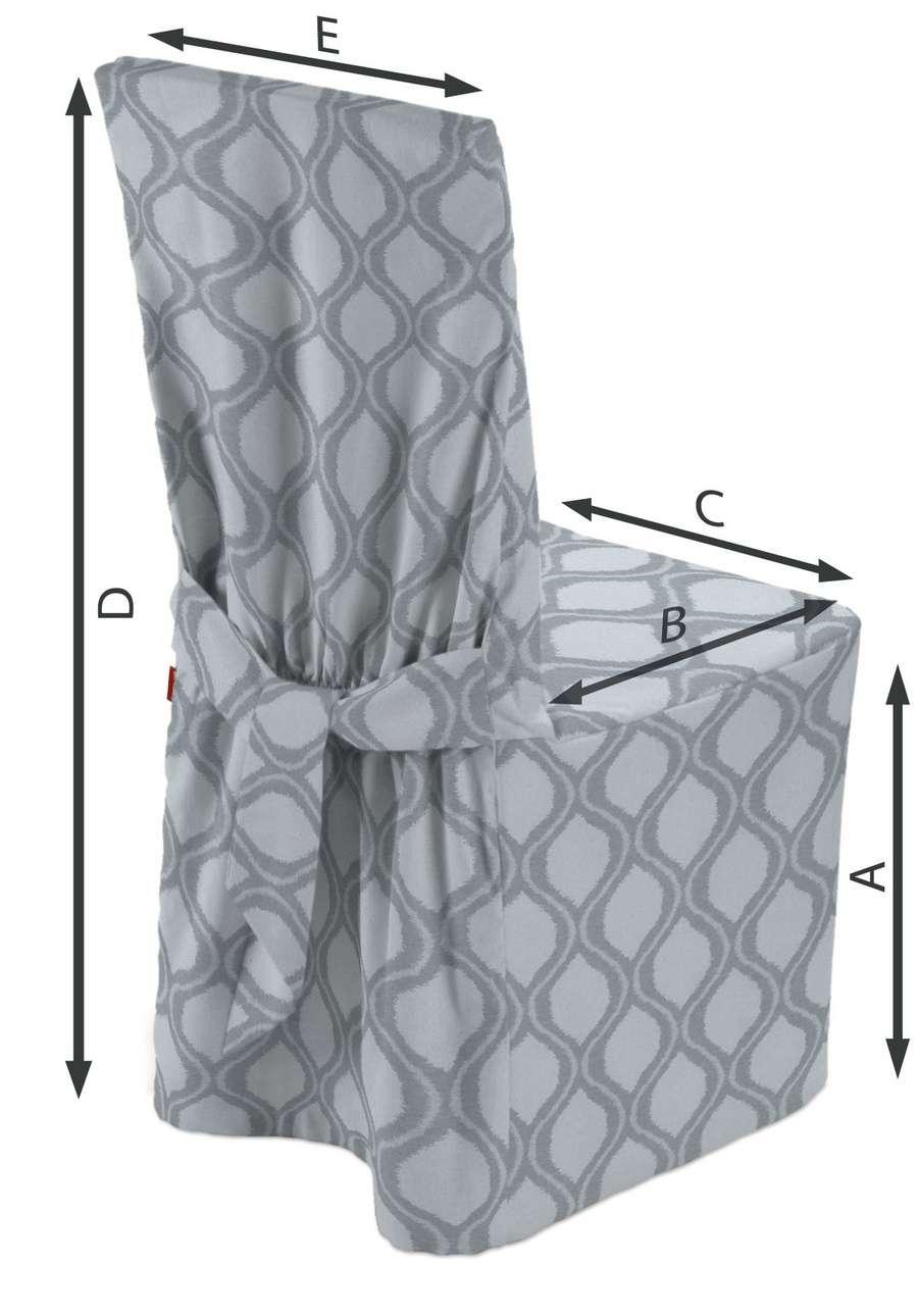 Návlek na stoličku V kolekcii Damasco, tkanina: 142-54