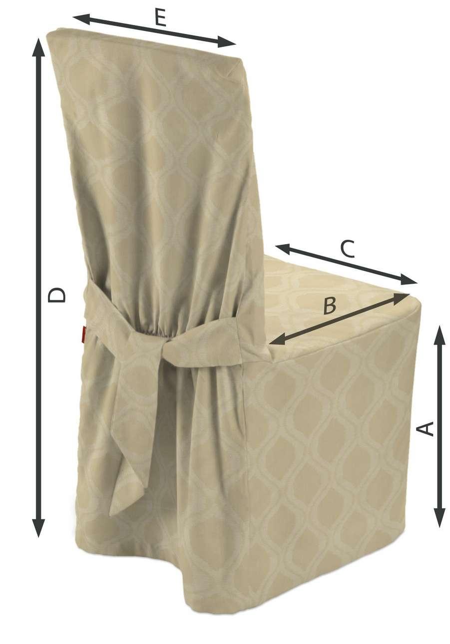Návlek na stoličku V kolekcii Damasco, tkanina: 142-53