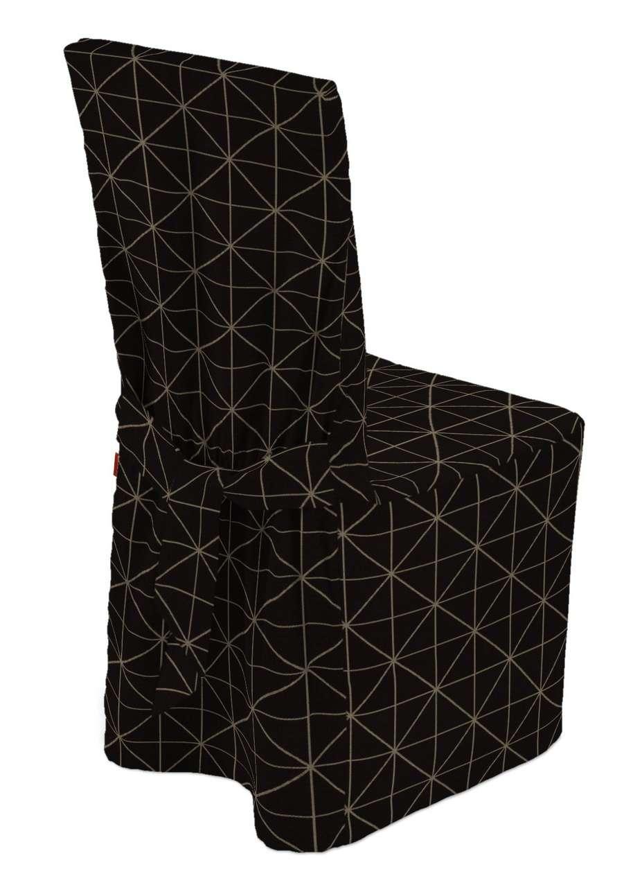 Sukienka na krzesło w kolekcji Black & White, tkanina: 142-55