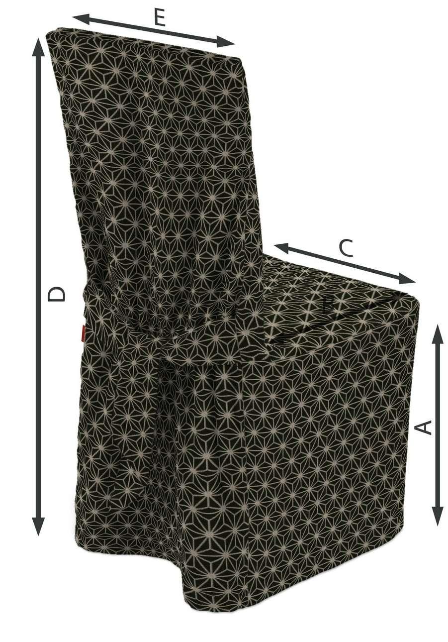 Universal Stoltrekk fra kolleksjonen Black & White, Stoffets bredde: 142-56
