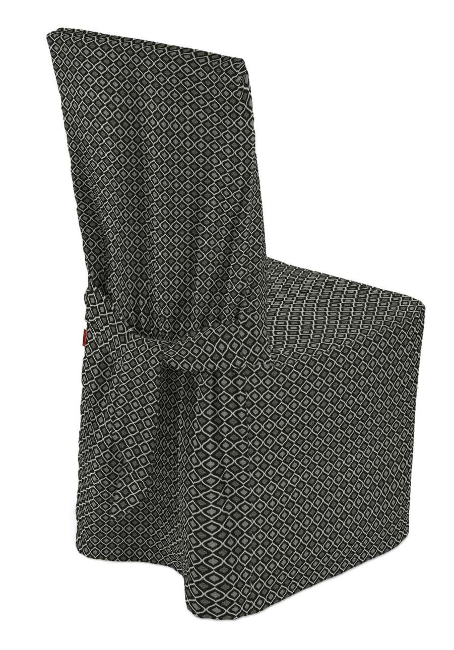 Sukienka na krzesło w kolekcji Black & White, tkanina: 142-86