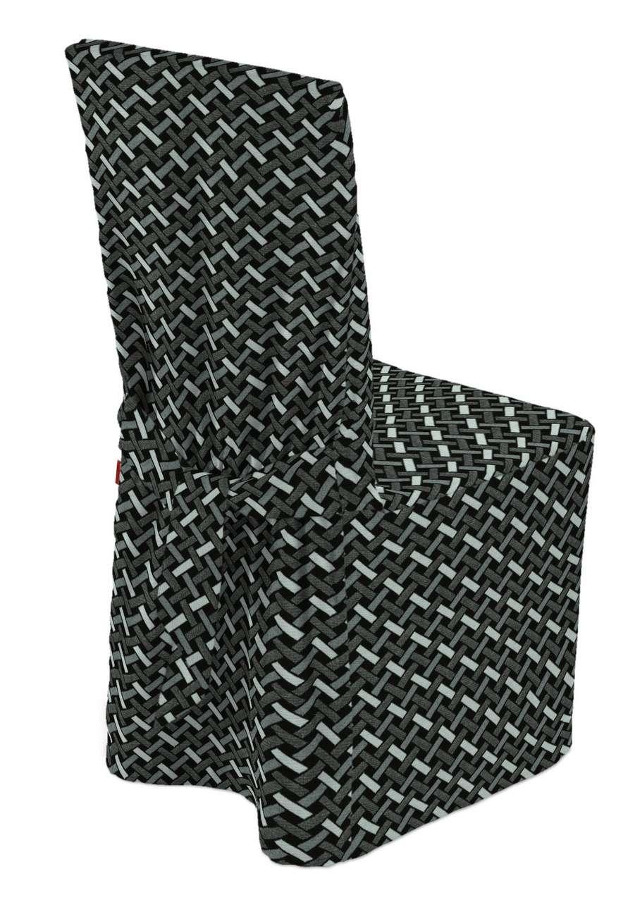 Návlek na stoličku V kolekcii Black & White, tkanina: 142-87