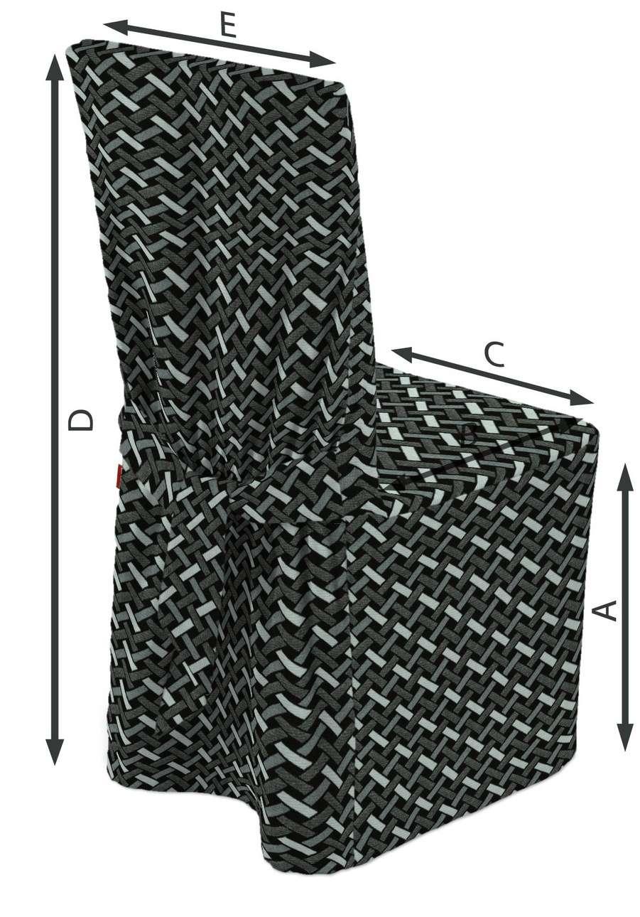 Universal Stoleovertræk fra kollektionen Black & White, Stof: 142-87