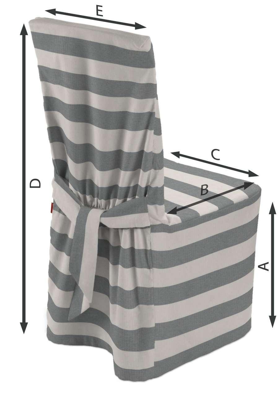 Návlek na stoličku V kolekcii Quadro, tkanina: 142-71
