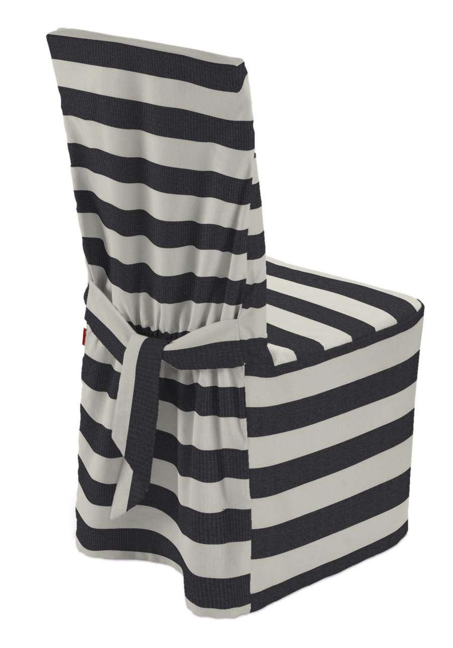 Sukienka na krzesło w kolekcji Quadro, tkanina: 142-72