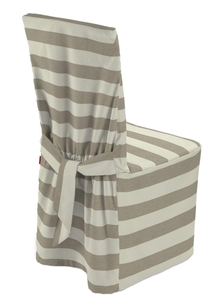 Sukienka na krzesło w kolekcji Quadro, tkanina: 142-73