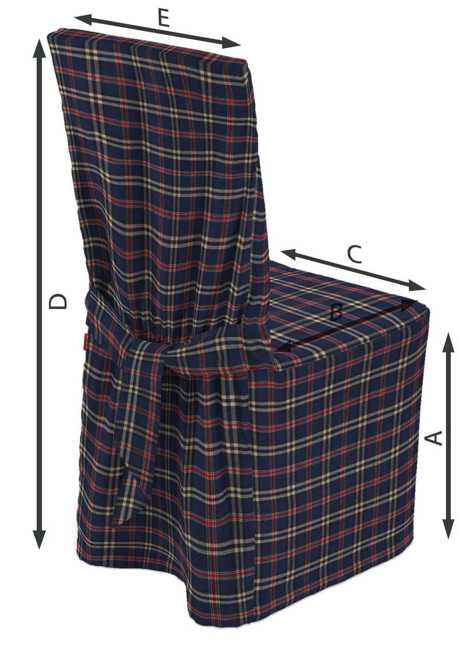 Návlek na stoličku V kolekcii Bristol, tkanina: 142-68