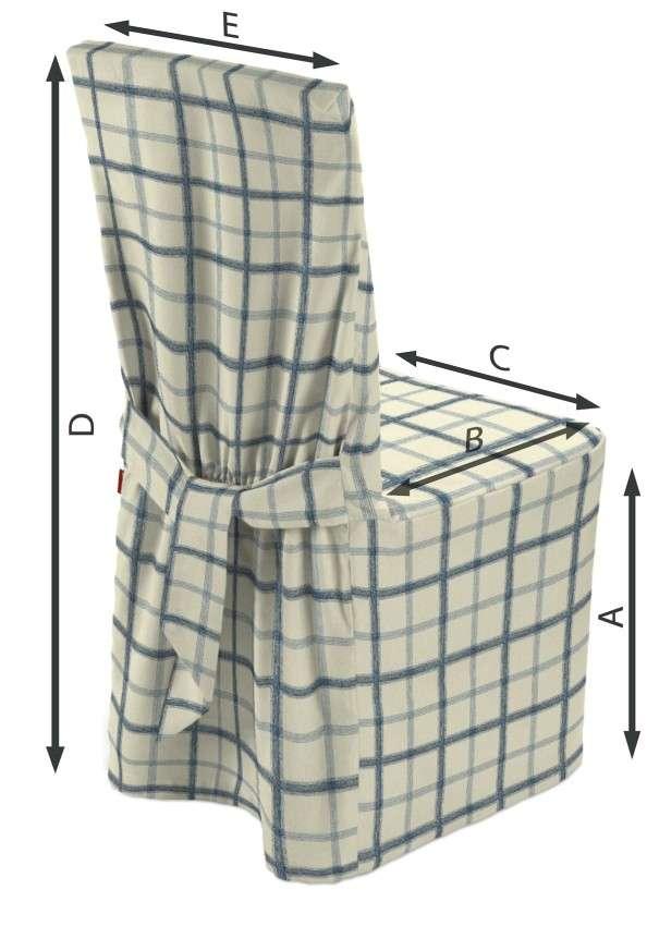 Sukienka na krzesło 45x94 cm w kolekcji Avinon, tkanina: 131-66