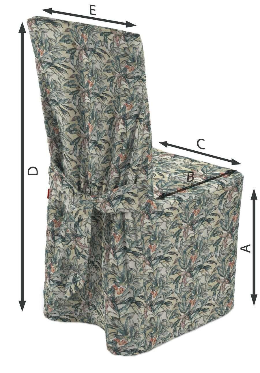 Návlek na stoličku V kolekcii Abigail, tkanina: 143-08