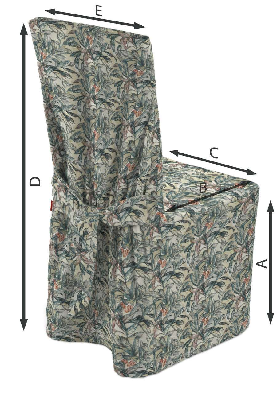 Sukienka na krzesło w kolekcji Abigail, tkanina: 143-08