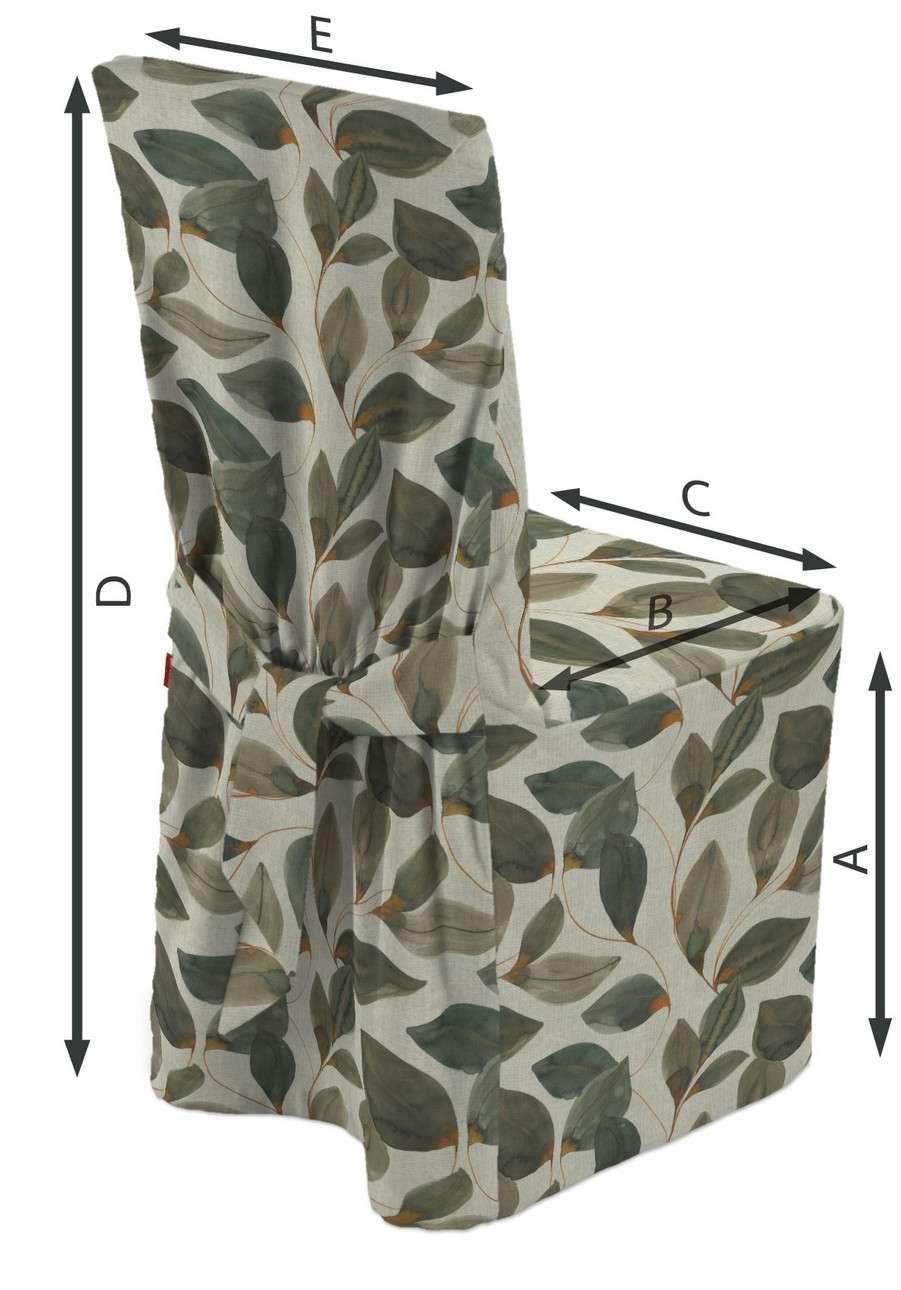Sukienka na krzesło w kolekcji Abigail, tkanina: 143-17
