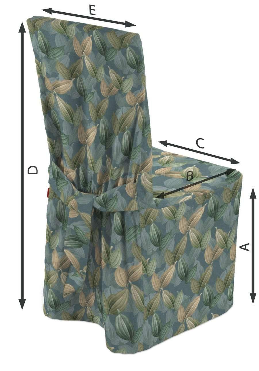 Návlek na stoličku V kolekcii Abigail, tkanina: 143-20