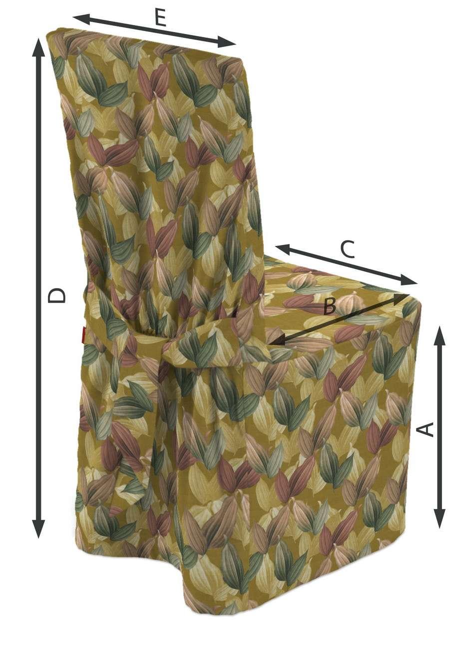 Návlek na stoličku V kolekcii Abigail, tkanina: 143-22
