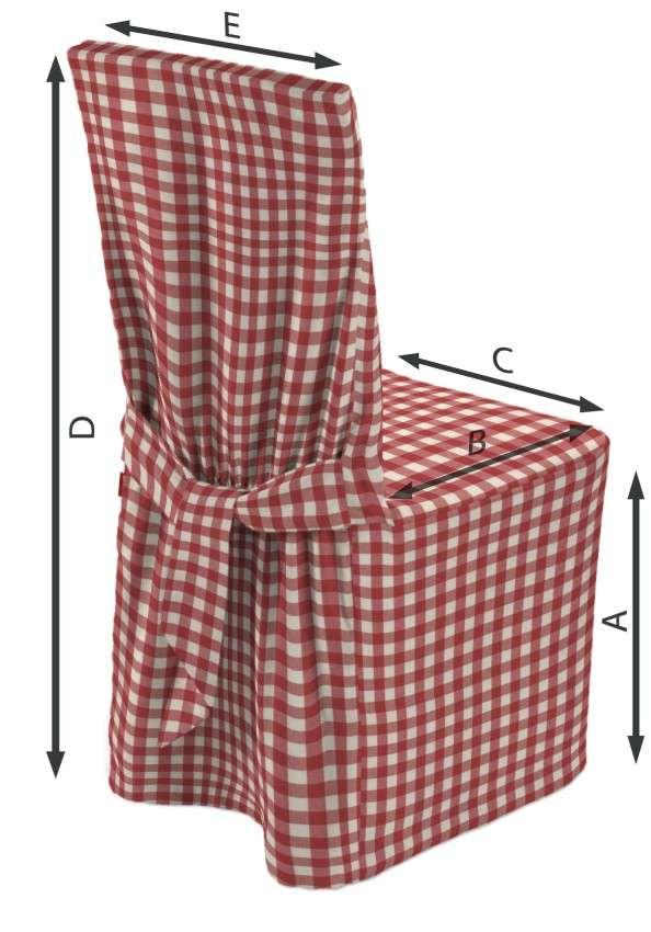 Universal Stoleovertræk fra kollektionen Quadro II, Stof: 136-16