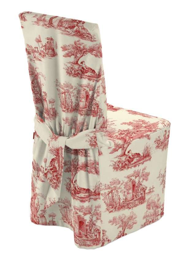 Standard And Made To Measure Chair Cover Red Characters