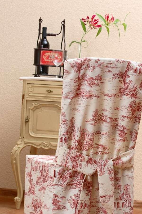 Sukienka na krzesło 45x94 cm w kolekcji Avinon, tkanina: 132-15